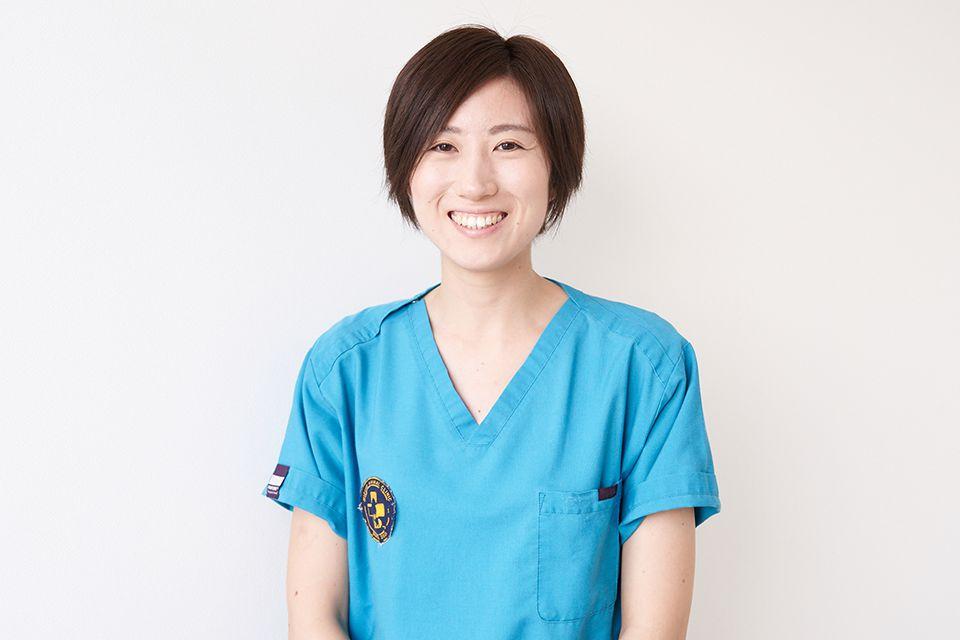 動物看護師長 田村